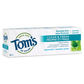 Tom's of Maine - Adult Toothpaste - Clean & Fresh - 2 flavors