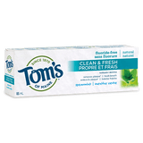 Tom's of Maine - Adult Toothpaste - Clean & Fresh - 2 flavors - Spearmint - Ebambu.ca free delivery >59$