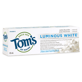Tom's of Maine - Premium Adult Toothpaste - Luminous White Clean