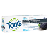 Tom's of Maine - Premium Adult Toothpaste - Peppermint Activate Charcoal - Ebambu.ca free delivery >59$