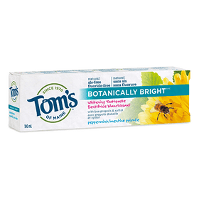 Tom's of Maine - Premium Adult Toothpaste - Peppermint SLS free Whitening