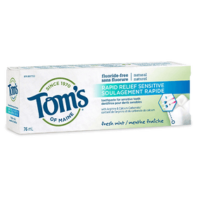 Tom's of Maine - Premium Adult Toothpaste - Rapid Relief Sensitive