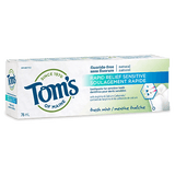 Tom's of Maine - Premium Adult Toothpaste - Rapid Relief Sensitive - Ebambu.ca free delivery >59$