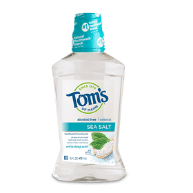 Tom's of Maine - Refreshing Mint Sea Salt Mouthwash