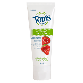 Tom's of Maine - Silly Strawberry Fluoride Toothpaste
