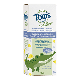 Tom's of Maine - Toddler Training Toothpaste