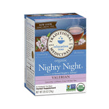 Organic Nighty Night Tea - Valerian - 20 bags by Traditional Medicinals - Ebambu.ca natural health product store - free shipping <59$