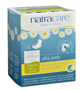 Natracare Ultra Pads by Natracare - Ebambu.ca natural health product store - free shipping <59$