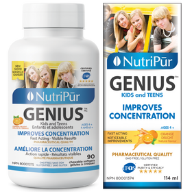 Nutripur GENIUS Kids & Teens - Chewable & Liquid