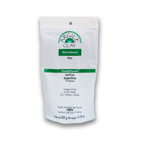 Argile clay Illite Verte Surfine 300g
