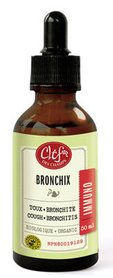 Clef des champs Bronchix tincture 50 ml by Clef de champs - Ebambu.ca natural health product store - free shipping <59$