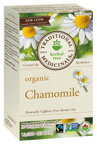 Traditional Medicinals Organic Chamomile Tea 20 bags by Traditional Medicinals - Ebambu.ca natural health product store - free shipping <59$