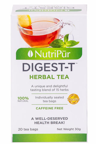 Nutripur Digest-T herbal tea (20) by Nutripur - Ebambu.ca natural health product store - free shipping <59$