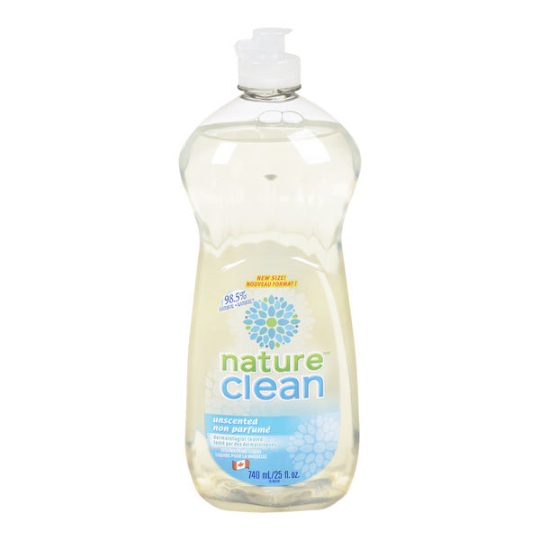 Nature Clean Dishwashing Liquid 740 ml by Nature Clean - Ebambu.ca natural health product store - free shipping <59$