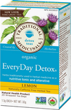 Traditional Medicinals Organic Lemon Everyday Detox 20 bags
