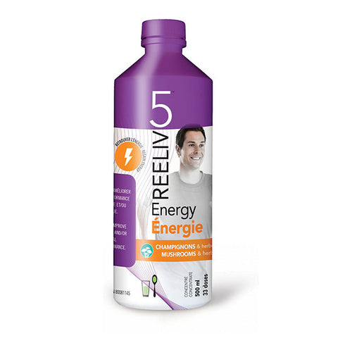 Reeliv5 - Energy 500ml by Reeliv5 - Ebambu.ca natural health product store - free shipping <59$