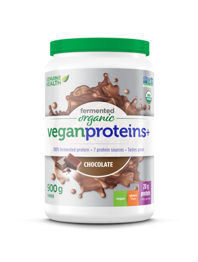 Genuine Health Fermented Vegan Proteins+ 600 g - 4 flavours