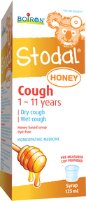 Boiron Stodal Child Honey cough syrup 125ml