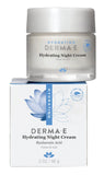 Derma e - Hydrating Night Cream by Derma e - Ebambu.ca natural health product store - free shipping <59$