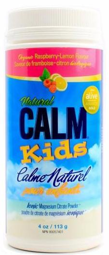 Natural Calm - Magnesium Citrate Powder for Kids