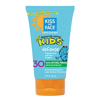 Kiss My Face - Kids Defense™ Mineral Sunscreen Lotion SPF 30 - 118mL by Kiss my Face - Ebambu.ca natural health product store - free shipping <59$