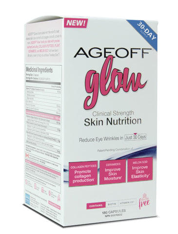 Nuvocare Age Off Glow 180 caps by Nuvocare - Ebambu.ca natural health product store - free shipping <59$
