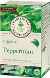 Traditional Medicinals Organic Peppermint Tea 20 bags by Traditional Medicinals - Ebambu.ca natural health product store - free shipping <59$