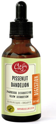 Clef des champs dandelion tincture 50 ml by Clef de champs - Ebambu.ca natural health product store - free shipping <59$