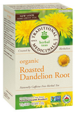 Traditional Medicinals Organic Roasted Dandelion Root 20 bags by Traditional Medicinals - Ebambu.ca natural health product store - free shipping <59$