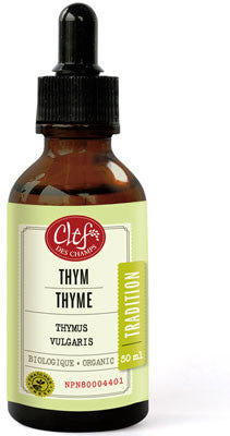 Clef des champs Thyme tincture 50 ml by Clef de champs - Ebambu.ca natural health product store - free shipping <59$