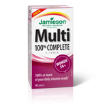 Jamieson Multivitamin 100% Complete for Womens 50+ 90 caplets by Jamieson - Ebambu.ca natural health product store - free shipping <59$