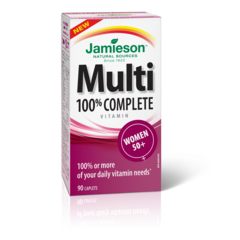 Jamieson Multivitamin 100% Complete for Womens 50+ 90 caplets