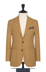 mustard faux uni wool silk slubbed twill Inspiration