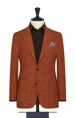 burnt orange wool linen blend mesh Inspiration