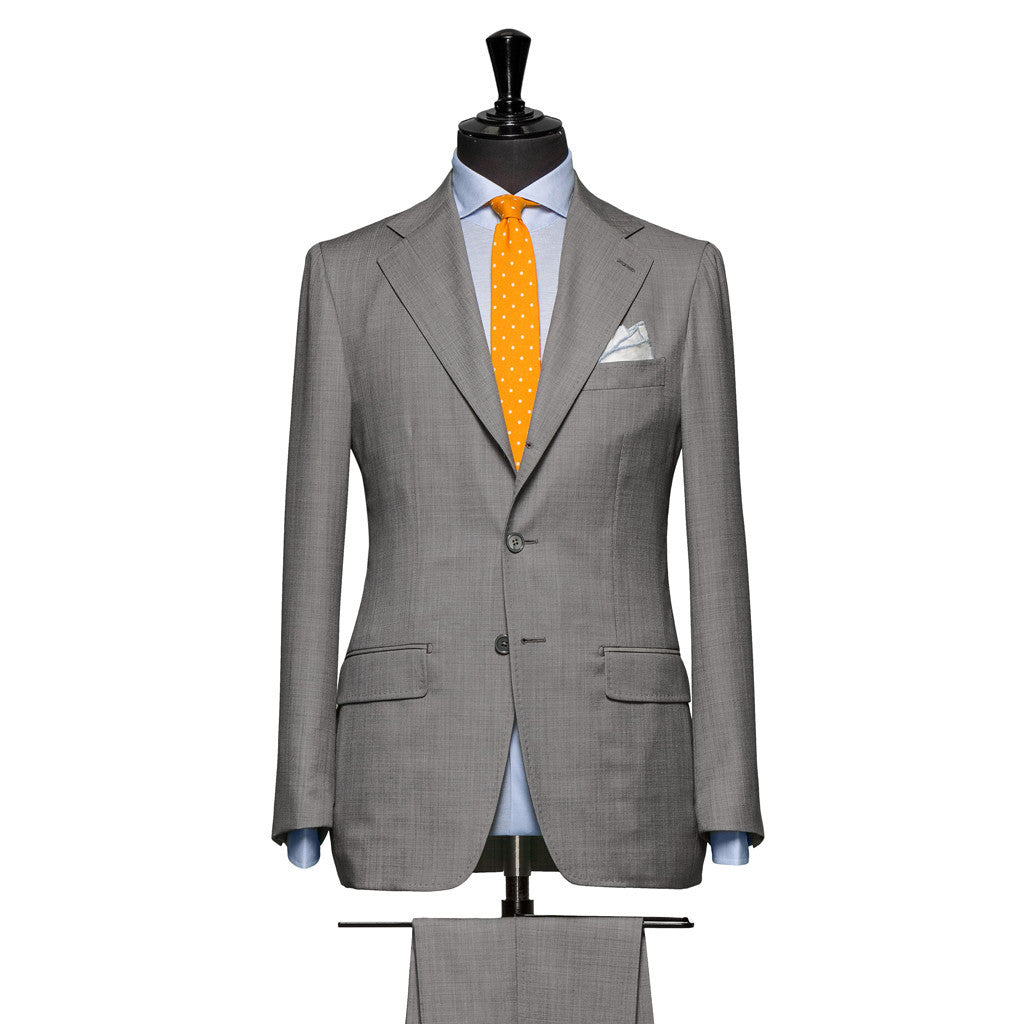 Light Grey Sharkskin