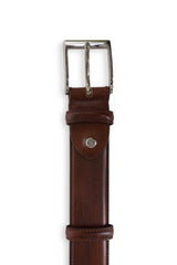 Bogart Castagne Leather Belt