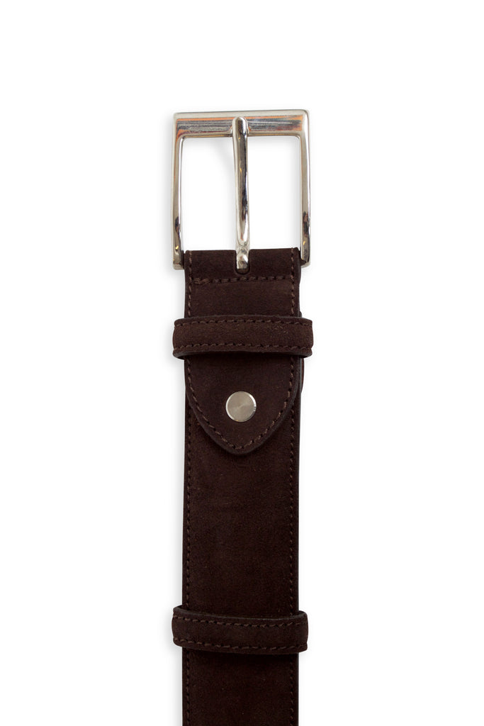Brando Brown Suede Belt