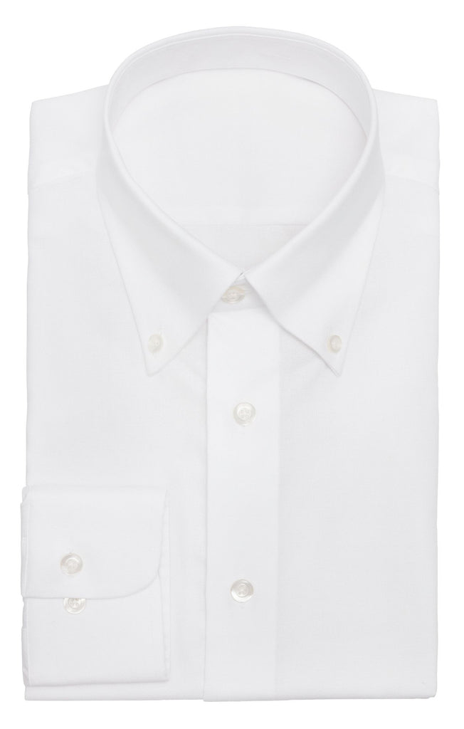 Albini white oxford