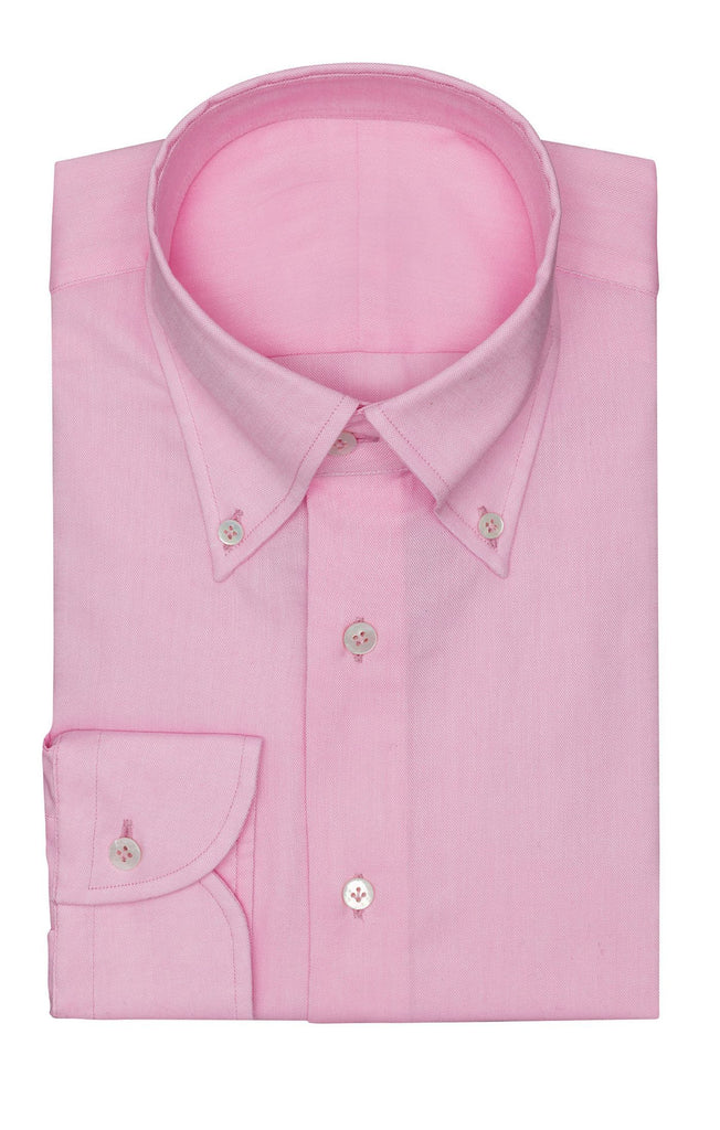 Albini pink Oxford