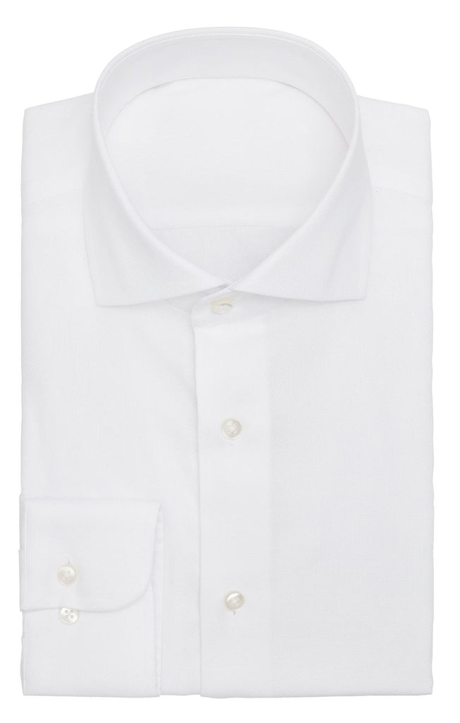 Albini white royal oxford