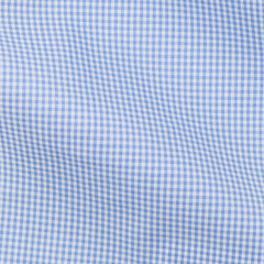 Medium Blue Gingham Check 0,2