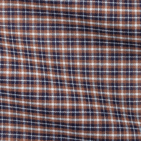 Blue Camel Tartan Soft Flannel Herringbone