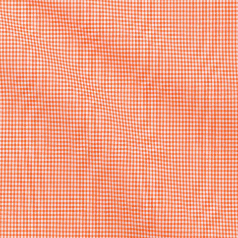 Orange Smalls Checks Poplin