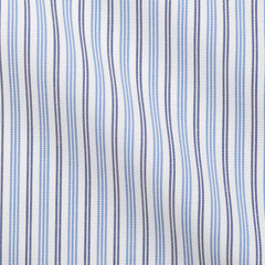 Light Blue Dark Blue Plain Weave Stripes