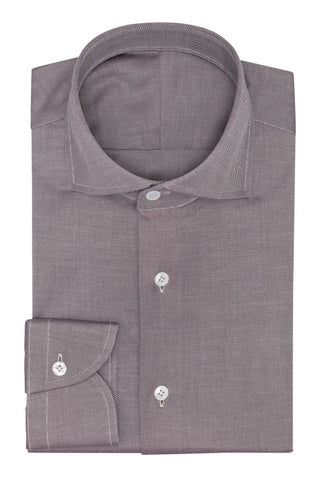 Albini Yoga Duke Mid Brown Cotton Twill
