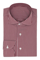 red stretch cotton blend with white stripes Inspiration