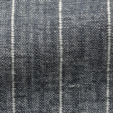 Ferla Blue Grey Striped Mélange