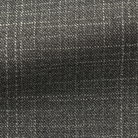 Loro Piana  black white wool silk mélange