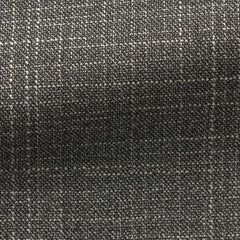Loro-Piana--black-white-wool-silk-mélange Fabric