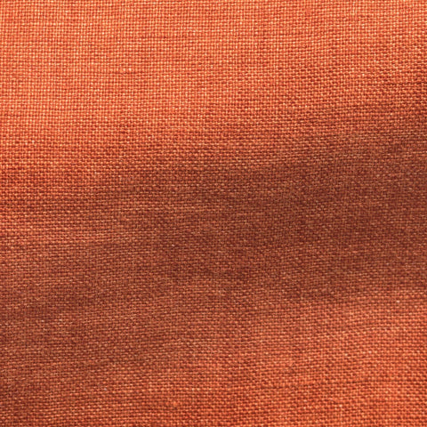 Solbiati Orange Rustic Linen